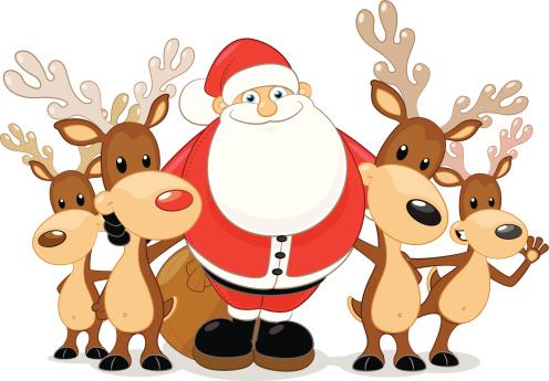 Kết quả hình ảnh cho Ảnh động Ông già Noel